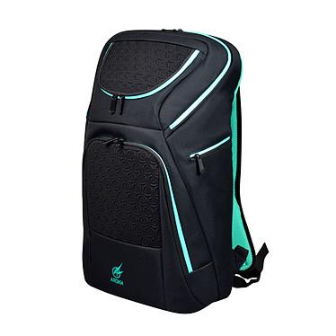 Arokh BP-3 Sac à dos pour ordinateur portable (jusqu'à 17''), tablette (jusqu'à 10'') et équipement gamer (clavier, souris, casque...)