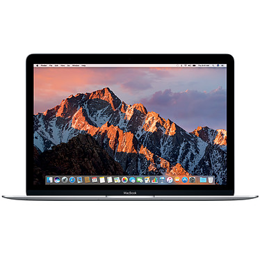 """Apple MacBook 12"""" Argent (MNYH2FN/A)"""
