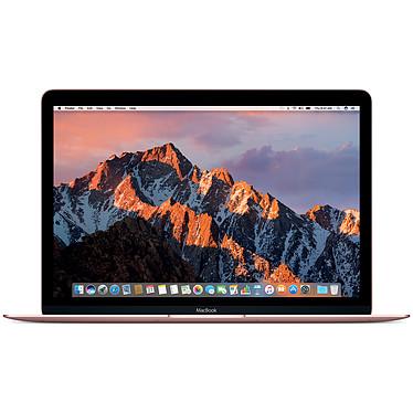 """Apple MacBook 12"""" Or rose (MNYM2FN/A) Intel Core m3 (1.1 GHz) 8 Go SSD 256 Go 12"""" LED Wi-Fi AC/Bluetooth Webcam Mac OS X Sierra"""