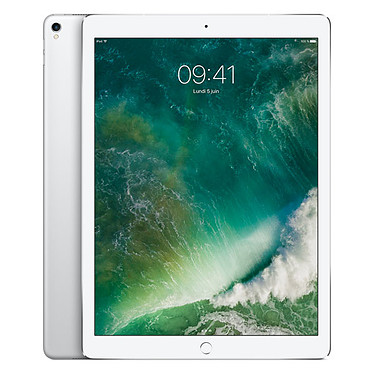 "Apple iPad Pro 12.9 pouces 256 Go Wi-Fi Argent Tablette Internet - Apple A10X 64 bits 4 Go eMMC 256 Go 12.9"" LED tactile Wi-Fi AC / Bluetooth Webcam iOS 10"