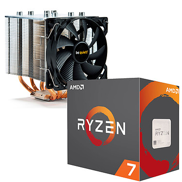AMD Ryzen 7 1700X (3.4 GHz) + be quiet! Shadow Rock 2 pour 1€ de plus