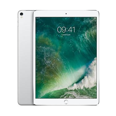 "Apple iPad Pro 10.5 pouces 64 Go Wi-Fi Argent Tablette Internet - Apple A10X 64 bits 4 Go eMMC 64 Go 10.5"" LED tactile Wi-Fi AC / Bluetooth Webcam iOS 10"