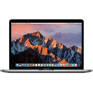 "Apple MacBook Pro 13"" Gris sidéral (MR9Q2FN/A-I7) Intel Core i7 (2.7 GHz) 8 Go SSD 256 Go 13.3"" LED Wi-Fi AC/Bluetooth Webcam Mac OS High Sierra"