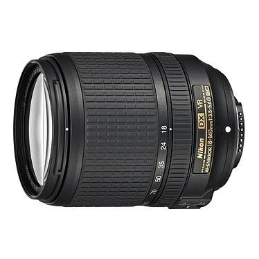 Nikon AF-S DX NIKKOR 18-140mm f/3.5-5.6G ED VR Objectif transtandard zoom 7.8x au format DX