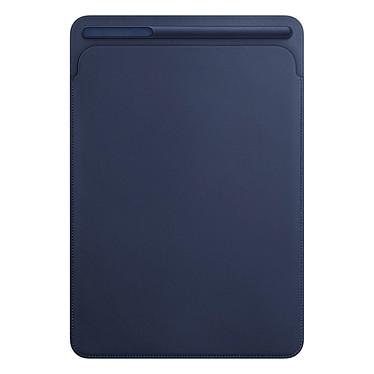 "Apple iPad Pro 10.5"" Etui Cuir Bleu Nuit Etui en cuir supérieur avec porte-stylo pour iPad Pro 10.5"""