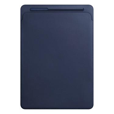 """Apple iPad Pro 12.9"""" Etui Cuir Bleu Nuit"""