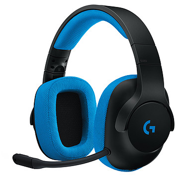 Logitech G233 Prodigy Wired Gaming Headset Casque-micro stéréo filaire pour gamer (compatible PC, Xbox One, PS4, Switch)