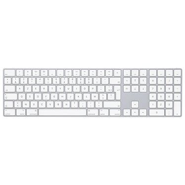 Apple Magic Keyboard Pavé Numérique (FR) Clavier sans fil Bluetooth rechargeable avec pavé numérique (AZERTY, Français)