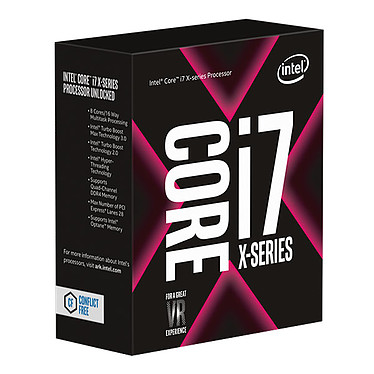 Intel Core i7-7820X (3.6 GHz)