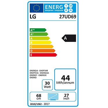 "LG 27"" LED 27UD69-W pas cher"