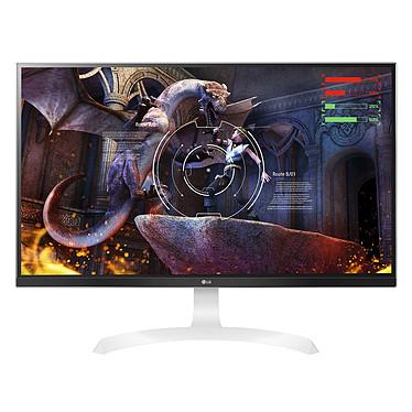 "LG 27"" LED 27UD69-W 3840 x 2160 pixels - 5 ms - Format large 16/9 - Dalle IPS - FreeSync - HDMI - Display Port - Blanc/Argent"