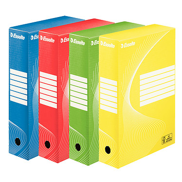 Esselte Standard Boîte à archives 80 mm x 10
