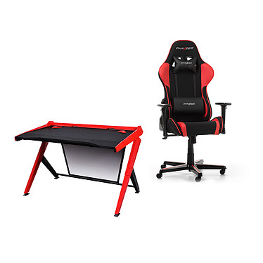 DXRacer Gaming Station (rouge)