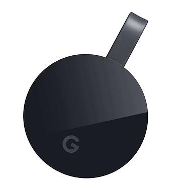 Google Chromecast Ultra Dispositivo multimedia para la transmisión de contenido 4K Ultra HD y HDR a través del puerto HDMI para Smartphone y Tablet