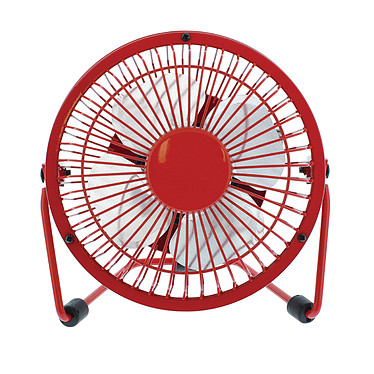 HQ Mini ventilateur USB (Rouge)