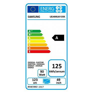 Samsung UE49MU6105 pas cher