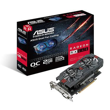 ASUS Radeon RX 560 2GB OC 2 Go DVI HDMI DisplayPort - PCI Express (AMD Radeon RX 560)