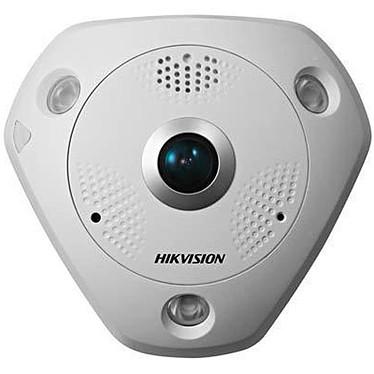 Hikvision DS-2CD6362F-I Caméra dôme PTZ avec objectif Fisheye 360° IP 66 jour/nuit 3072 x 2048 PoE (Gigabit Ethernet)