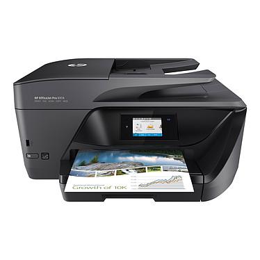 HP OfficeJet Pro 6974 Imprimante Multifonction jet d'encre couleur 4-en-1 recto-verso automatique (USB 2.0 / Ethernet / Wi-Fi)