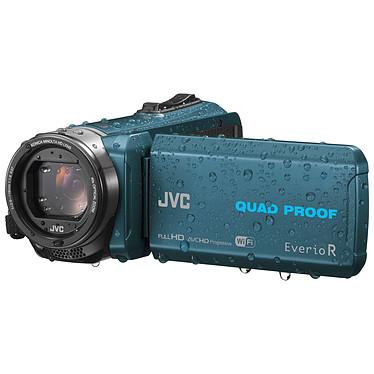 JVC GZ-RX645 Bleu + Carte SDHC 16 Go
