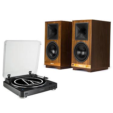 Audio-Technica AT-LP60BT Noir + Klipsch The Sixes