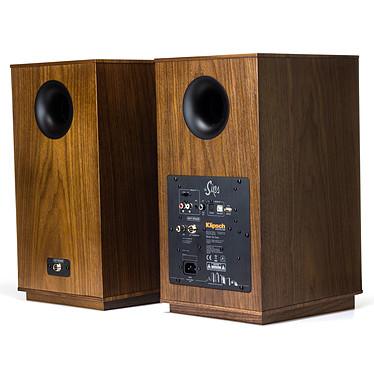 Audio-Technica AT-LP120USBC Noir + Klipsch The Sixes pas cher