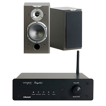 Tangent Ampster BT + Cabasse Antigua MT360 Wengué