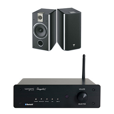 Tangent Ampster BT + Focal Chorus 706 Black Style
