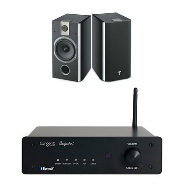 Tangent Ampster BT + Focal Chorus 706 Black Style