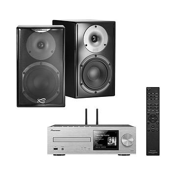 Pioneer XC-HM86D Argent + Cabasse Surf Noir