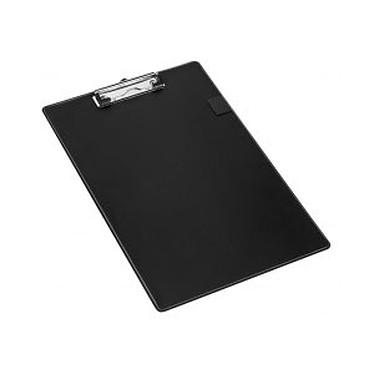 Porte-bloc A4 avec pince coloris noir