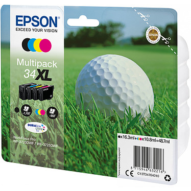 Epson Balle de Golf Multipack 34XL