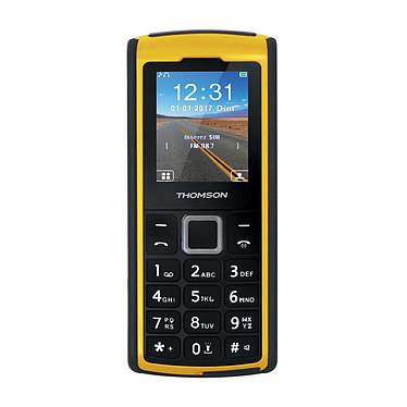 "Thomson Tlink 20S+ Jaune Téléphone 2G Dual SIM IP67 - Ecran 2"" 176 x 220 - Bluetooth - 1050 mAh"