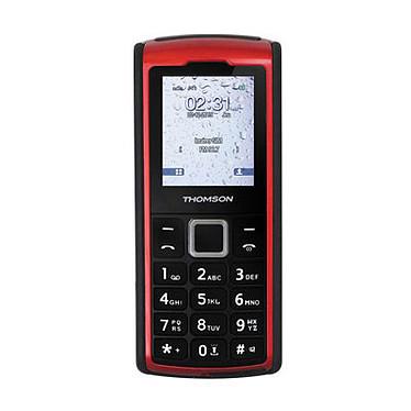 "Thomson Tlink 20S Rouge Téléphone 2G Dual SIM IP66 - Ecran 2"" 176 x 220 - Bluetooth - 1050 mAh"
