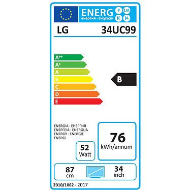 """LG 34"""" LED - 34UC99-W pas cher"""