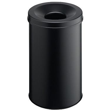 DURABLE Corbeille anti-feu 30 litres Noir