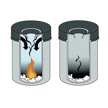 Avis DURABLE Corbeille anti-feu 60 litres Noir