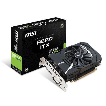 MSI GEFORCE GTX 1050 TI AERO ITX 4G OCV1 4096 MB DVI/HDMI/DisplayPort - PCI Express (NVIDIA GeForce con CUDA GTX 1050 Ti)