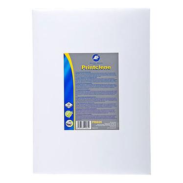 AF Printclene Pack de 25 feuilles de nettoyage pour fax et imprimante laser