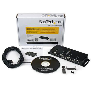 Acheter StarTech.com Hub adaptateur USB vers série DB9 RS232 4 ports