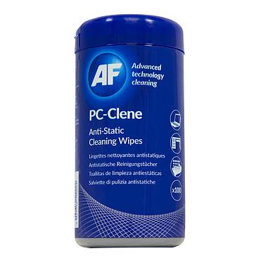 AF PC-Clene (PCC100) Pack de 100 lingettes nettoyantes antistatiques