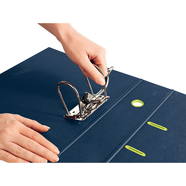 Avis Leitz Classeur à Levier Recyclé 180° Dos 50 mm Bleu