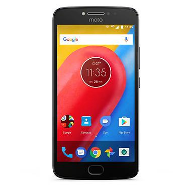 "Motorola Moto E4 Plus Gris Graphite Smartphone 4G-LTE Dual SIM - Mediatek MT6737 Quad-Core 1.3 GHz - RAM 3 Go - Ecran tactile 5.5"" 720 x 1280 - 16 Go - NFC/Bluetooth 4.2 - 5000 mAh - Android 7.1"