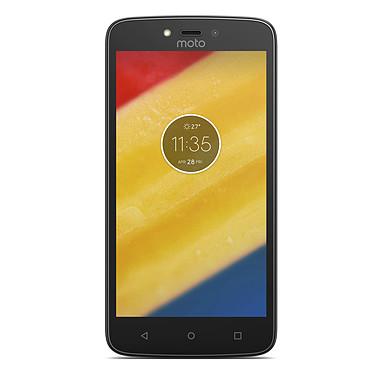 """Motorola Moto C Plus Rouge Cerise Smartphone 4G-LTE Dual SIM - Mediatek MT6737 Quad-Core 1.3 GHz - RAM 1 Go - Ecran tactile 5"""" 720 x 1280 - 16 Go - Bluetooth 4.2 - 4000 mAh - Android 7.0"""