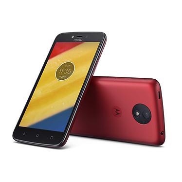 Avis Motorola Moto C Plus Rouge Cerise