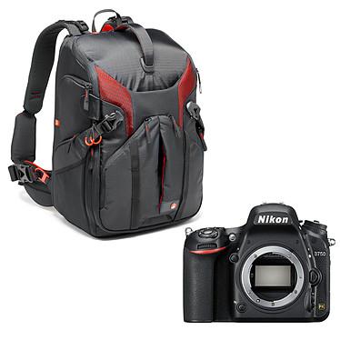 """Nikon D750 (boîtier nu) + Manfrotto Pro Light Sling MB PL-3N1-36 Réflex Numérique 24.3 MP - Ecran inclinable 3.2"""" - Vidéo Full HD 1080p - Wi-Fi + Sac à dos professionnel"""