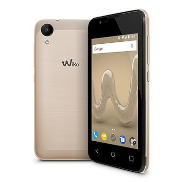 "Wiko Sunny 2 Or Smartphone 3G+ Dual SIM - Mediatek MT6580 Quad-Core 1.2 GHz - RAM 512 Mo - Ecran tactile 4"" 480 x 800 - 8 Go - Bluetooth 2.1 - 1300 mAh - Android 6.0"