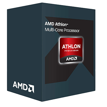 AMD Athlon X4 950 (3.5 GHz) · Occasion Processeur Quad Core socket AM4 Cache L2 2 Mo 0.028 micron TDP 65W (version boîte) - Article utilisé, garantie 6 mois
