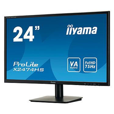 """Avis iiyama 24"""" LED - ProLite X2474HS-B1"""