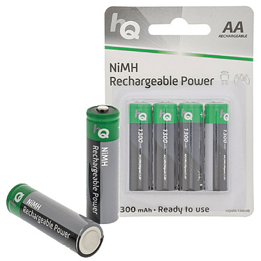 HQ Rechargeable Power AA 1300 mAh (par 4)